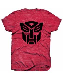 Тениска Rock Off Hasbro - Transformers Autobot Shield Black