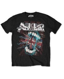 Тениска Rock Off Asking Alexandria - Flag Eater