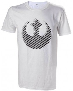 Тениска Bioworld Star Wars - Rebel Logo, S
