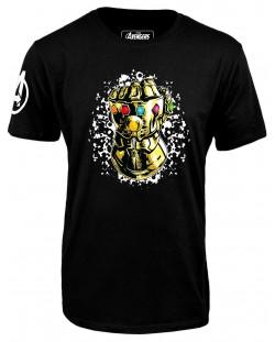 Тениска Avengers Infinity War - Infinity Gauntlet, черна