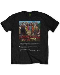 Тениска Rock Off The Beatles - Sgt Pepper 8 Track