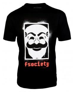 Тениска Mr. Robot - fsociety, XL