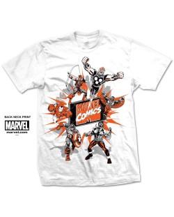 Тениска Rock Off Marvel Comics - Marvel Montage 2.