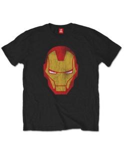 Тениска Rock Off Marvel Comics - Iron Man Distressed