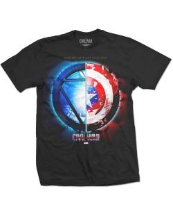Тениска Rock Off Marvel Comics - Captain America Civil War Whose Side