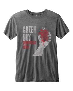 Тениска Rock Off Green Day Fashion - American Idiot Vintage