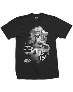 Тениска Rock Off Star Wars - Rogue One Stormtrooper