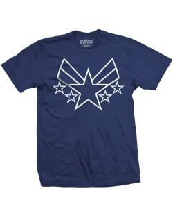 Тениска Rock Off Marvel Comics - Captain America Civil War Cap Insignia