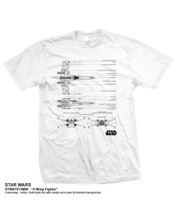 Тениска Rock Off Star Wars - X-Wing Fighter