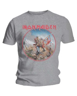 Тениска Rock Off Iron Maiden - Trooper Vintage Circle