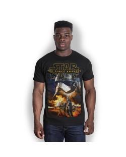Тениска Rock Off Star Wars - Episode VII Phasma & Troopers
