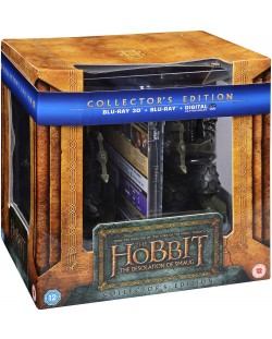 The Hobbit - The Desolation Of Smaug  -  Bookend (Blu-Ray)
