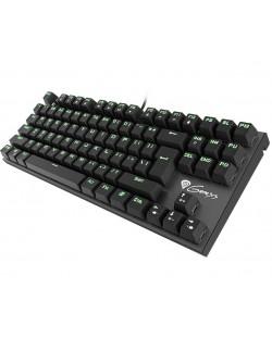 Механична клавиатура Genesis Thor 300 - TKL, сини суичове, зелена подсветка