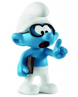 Фигурка Schleich The Smurfs - Смърф Очилатко