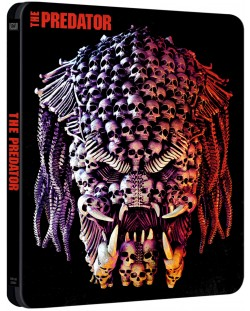 Хищникът 2018 Steelbook (Blu-ray)