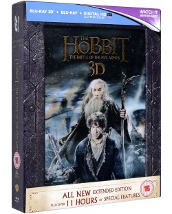 The Hobbit: The Battle Of The Five Armies - Extended Edition - 3D+2D (Blu-Ray)