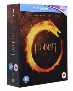 The Hobbit - The Motion Picture Trilogy (Blu-Ray)