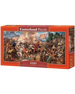 Панорамен пъзел Castorland от 600 части - Битката при Таненберг, Ян Матейко