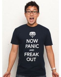 Threadless Now Panic and Freak Out - мъжка L