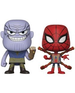 Фигури Funko Pop!: Marvel - Avengers: Infinity War - Thanos & Iron Spider (2 pack)