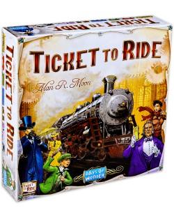 Настолна игра Ticket to Ride