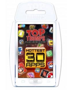 Игра с карти Top Trumps - Hottest Top 30 Apps