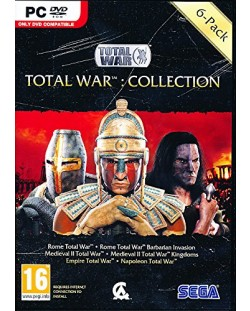 Total War: 6 Game Collection (Rome+Barbarian/Medieval II+Kingdoms/Empire/Napoleon) (PC)