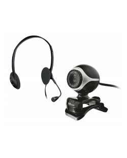TRUST Exist Chatpack (Webcam+Headsets)