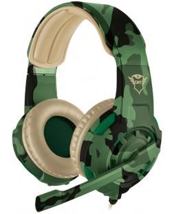 Гейминг слушалки Trust GXT 310C Radius - jungle camo