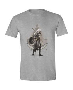 Тениска Assassin's Creed: Origins - Character Stance, сива