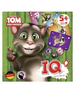 Игра с карти Talking Tom IQ
