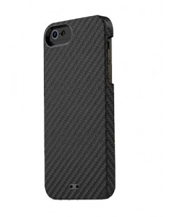 Калъф Tunewear Carbonlook за iPhone 5, Iphone 5s -  черен