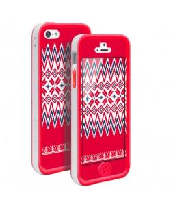 Tunewear Poptune Nordic за iPhone 5 -  червен