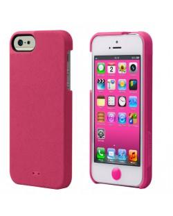 Tunewear Leatherlook за iPhone 5 -  розов