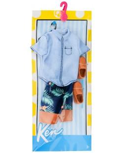 Моден комплект Mattel - Кен, летен