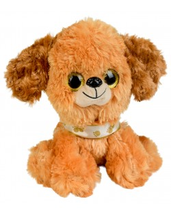 Плюшена играчка Morgenroth Plusch - Кафяво кученце, 20 cm