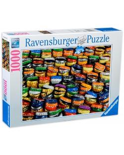 Пъзел Ravensburger от 1000 части - Цветни капачки