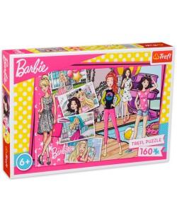Пъзел Trefl от 160 части - Модна Барби