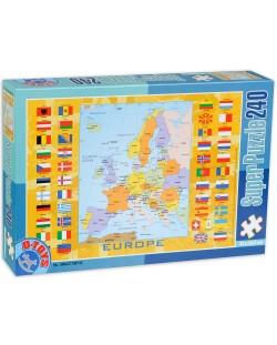 Пъзел D-Toys от 240 части - Картa