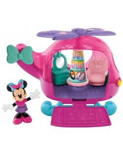 Комплект за игра Fisher Price - Хеликоптерът-бутик на Мини Маус