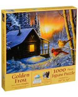 Пъзел SunsOut от 1000 части - Златен студ, Тери Даути