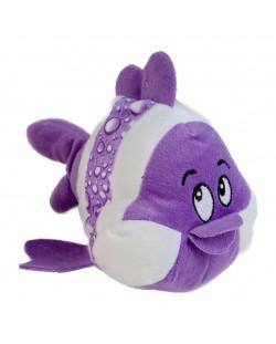 Плюшена играчка Morgenroth Plusch - Лилава рибка, 20 cm