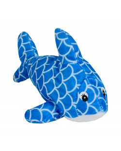 Плюшена играчка Morgenroth Plusch - Синя рибка, 22 cm