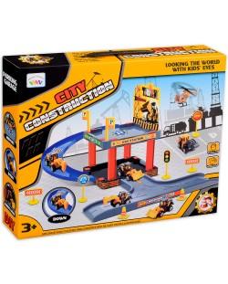 Игрален комплект City Construction - Паркинг