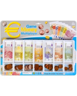 Игрален комплект Game Money Multiplayer - Монети и банкноти