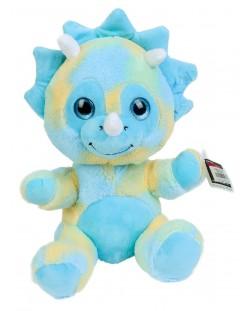 Плюшена играчка Morgenroth Plusch - Синьо бебе дракон, 27 cm