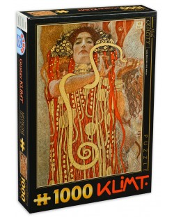 Пъзел D-Toys от 1000 части - Лекарство, Густав Климт