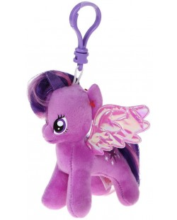 Ключодържател TY Toys My Little Pony - Плюшено пони Twilight Sparkle, 11 cm