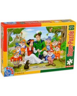 Пъзел D-Toys от 60 части - Снежанка и седемте джуджета
