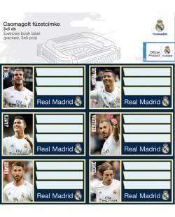 Ученически етикети Ars Una Real Madrid - 18 броя
